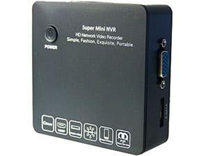Миниатюрный IP-видеорегистратор NDVR-6200 для IP-видеокамер, поддерживающих стандарт OnVif или RTSP