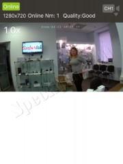 Скрытая беспроводная Wi-Fi мини камера Ambertek DV135Si - ПО для iOS