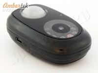 Мини видеорегистратор Ambertek DV2000 с ночной подсветкой и датчиком движения