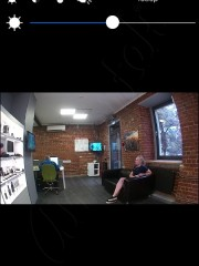 Приложение Ambertek HD для iOS мини камеры Ambertek Q11 и пример изображения с камеры