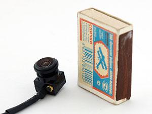 Миниатюрная цветная широкоугольная видеокамера видеонаблюдения VC-MC600