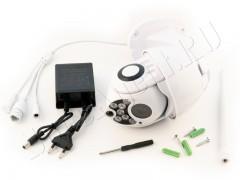 Всепогодная поворотная скрытая видеокамера Ambertek Q10S