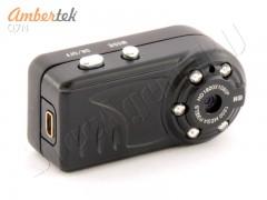 Мини камера видеорегистратор HD 720p Ambertek Q7N