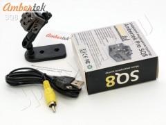 Мини видеорегистратор - видеокамера Ambertek SQ8