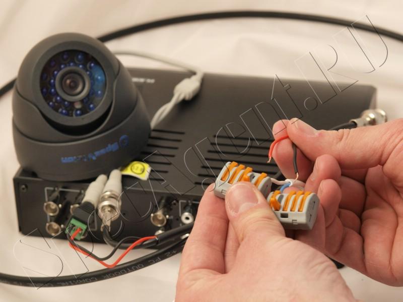 Все для установки и обслуживания камер видеонаблюдения