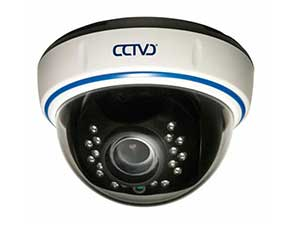 Видеокамера Falcon Eye цветная купольная с ночным видением с переменным фокусом