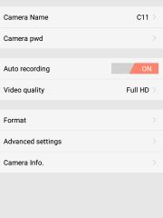 Скрытая беспроводная Wi-Fi мини камера DV135S - ПО для Android