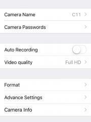 Мини беспроводная Wi-Fi мини камера DV135S - ПО для iOS