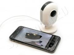 Панорамная Wi-Fi IP мини видеокамера EPC-C12
