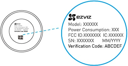 Беспроводная Wi-Fi мини видеокамера IP мини видеокамера Ezviz C2C