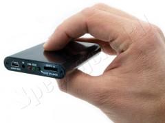 Миниатюрная видеокамера видеонаблюдения модели VC-MC380 AHD с широкоугольным объективом