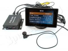 Миниатюрная видеокамера видеонаблюдения модели VC-MC600 AHD с широкоугольным объективом