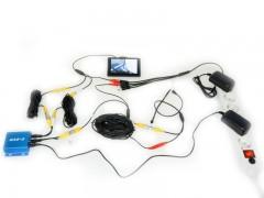 Набор видеонаблюдения с мини видеорегистратором Ambertek CDVR