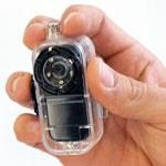 Водонепроницаемая мини видеокамера MD38 с датчиком звука и возможностью записи в процессе зарядки