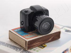 Самая маленькая в Мире HD 720p мини камера - микро фотоаппарат