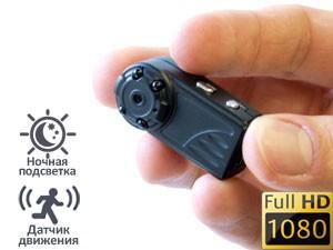 Мини видеокамеры с записью карту памяти