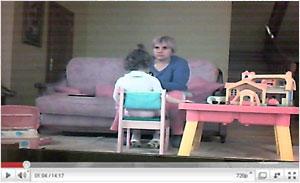 Видеонаблюдение за няней