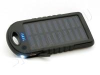 Зарядное устройство на солнечных батареях 5000 mAh