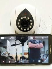 Мини PTZ беспроводная Wi-Fi IP-камера для видеонаблюдения через Интернет