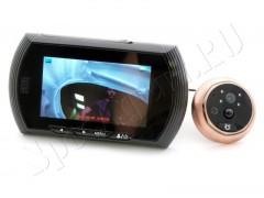 Дверной видеоглазок B43 с цветным экраном