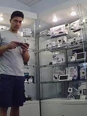 Приложение MeShare для iOS мини камеры Zmodo и пример изображения с камеры